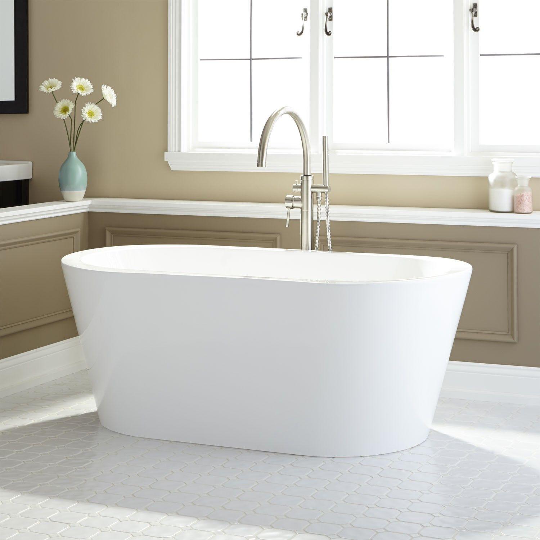 Leith Acrylic Freestanding Tub Freestanding Tubs Bathtubs