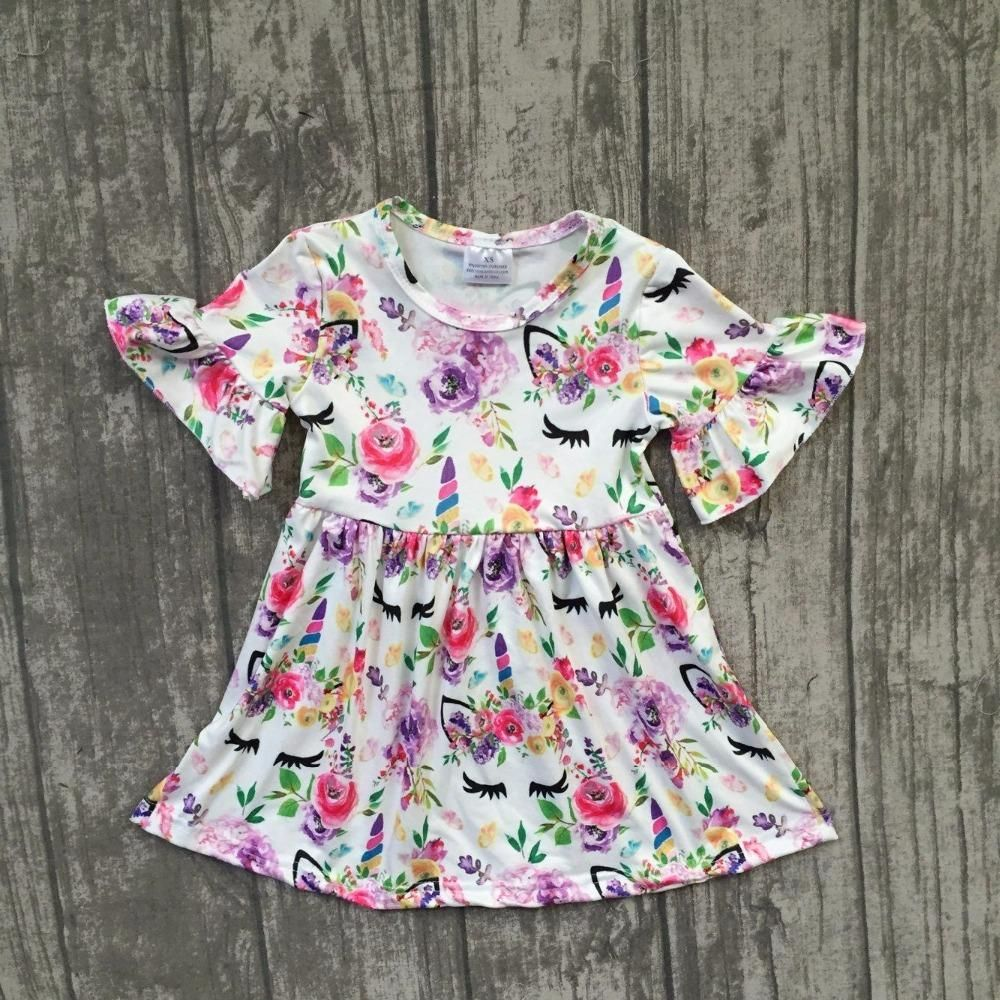 New Design Unicorn Girls Dress  Penelope isla  Pinterest