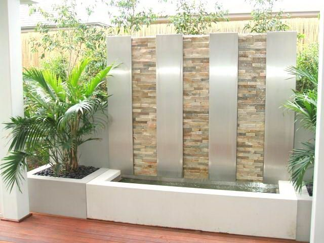 Indoor Waterfalls And Water Fountains For Gorgeous Look   Furniture Arcade    House Furniture, Living