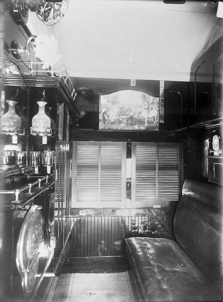 Interior of first class sleeping car chris drymalik