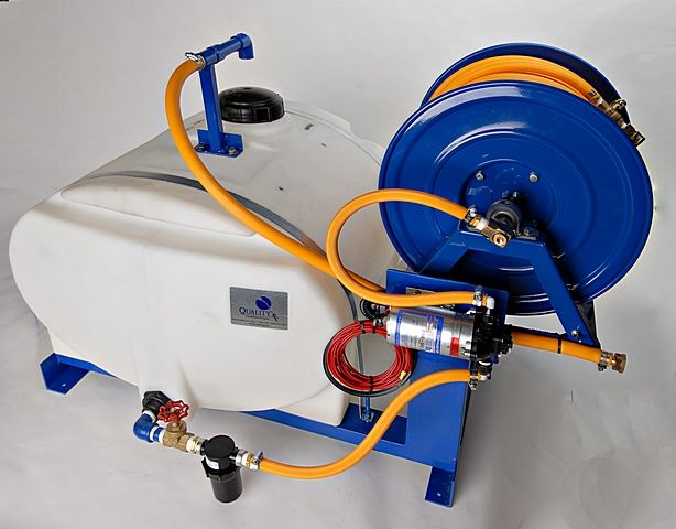 50 Gallon Pest Control Sprayer Skid 12 Volt Electric Pump Pest Control Sprayers Pests