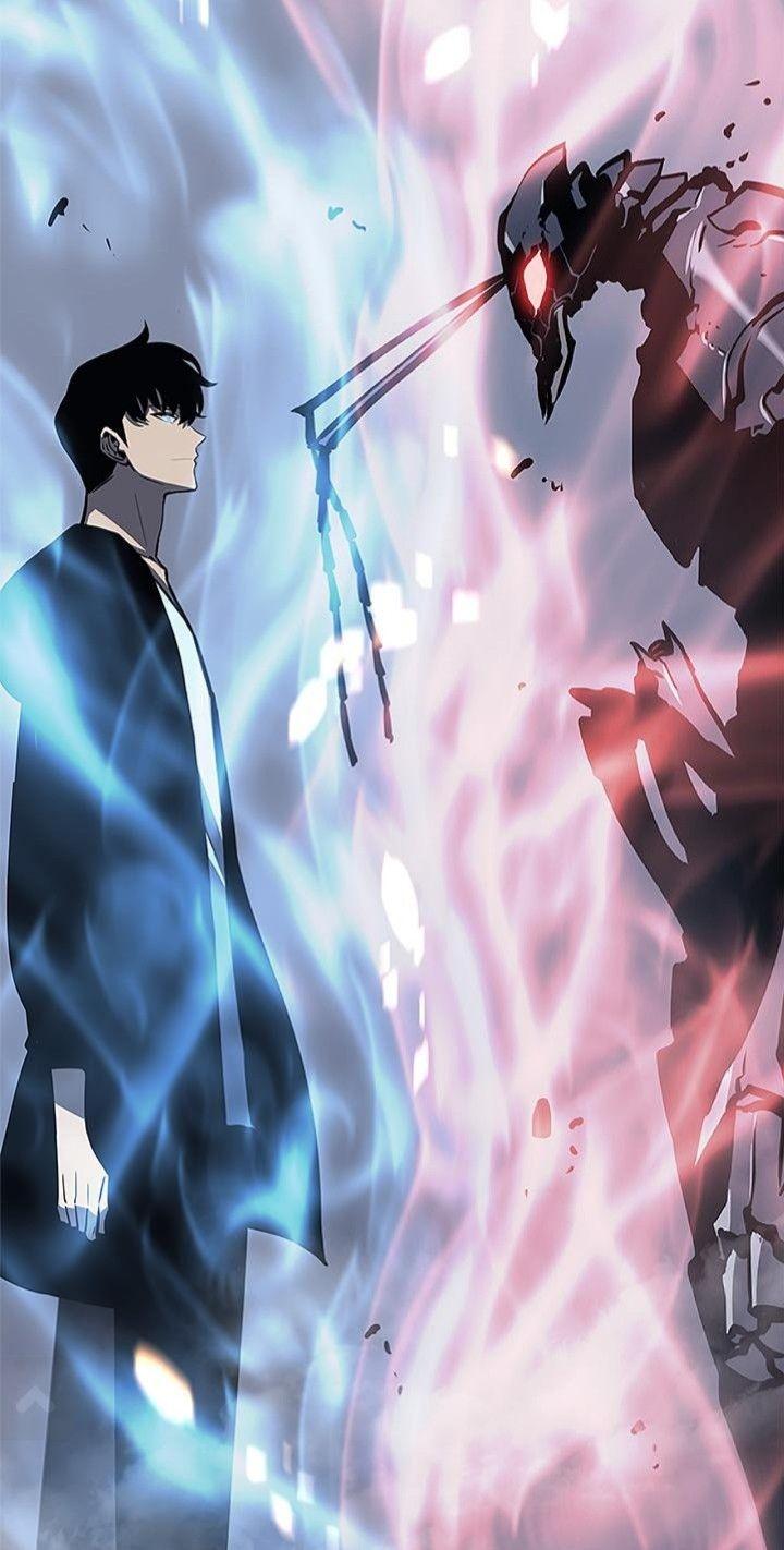 Grim Reaper Jin Woo (idea from u/tur_tul) sololeveling