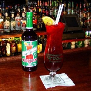 New Year's Eve New Orleans Drink Recipes: The Hurricane