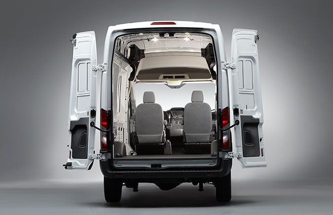 2015 Ford Transit Cargo Door Configurations Easy Convenient