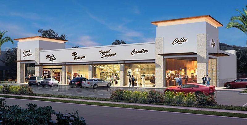 Retail Strip Centers Google Da Ara Centros Comerciales