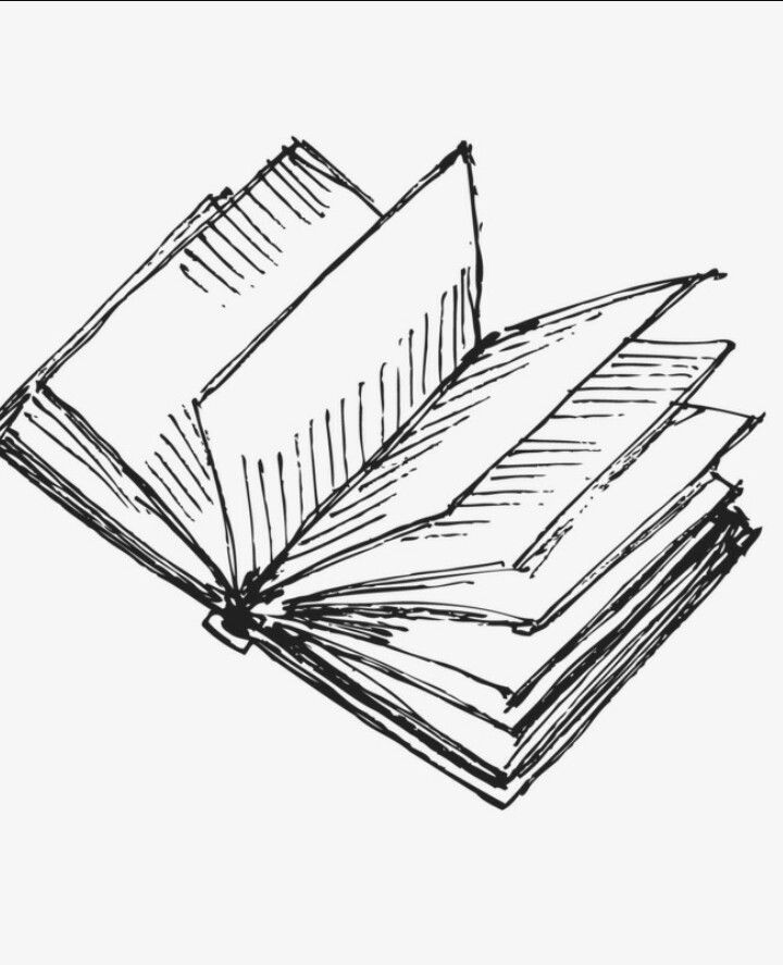 Open Book Drawing Easy : drawing, #literature, #book, #reading, #mindful, #drawing, #illustration, #booklovers, #simple, #minimal, Drawing,