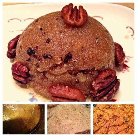 Homemade Veg Zone: Soji Almond Halwa ( cream of wheat)
