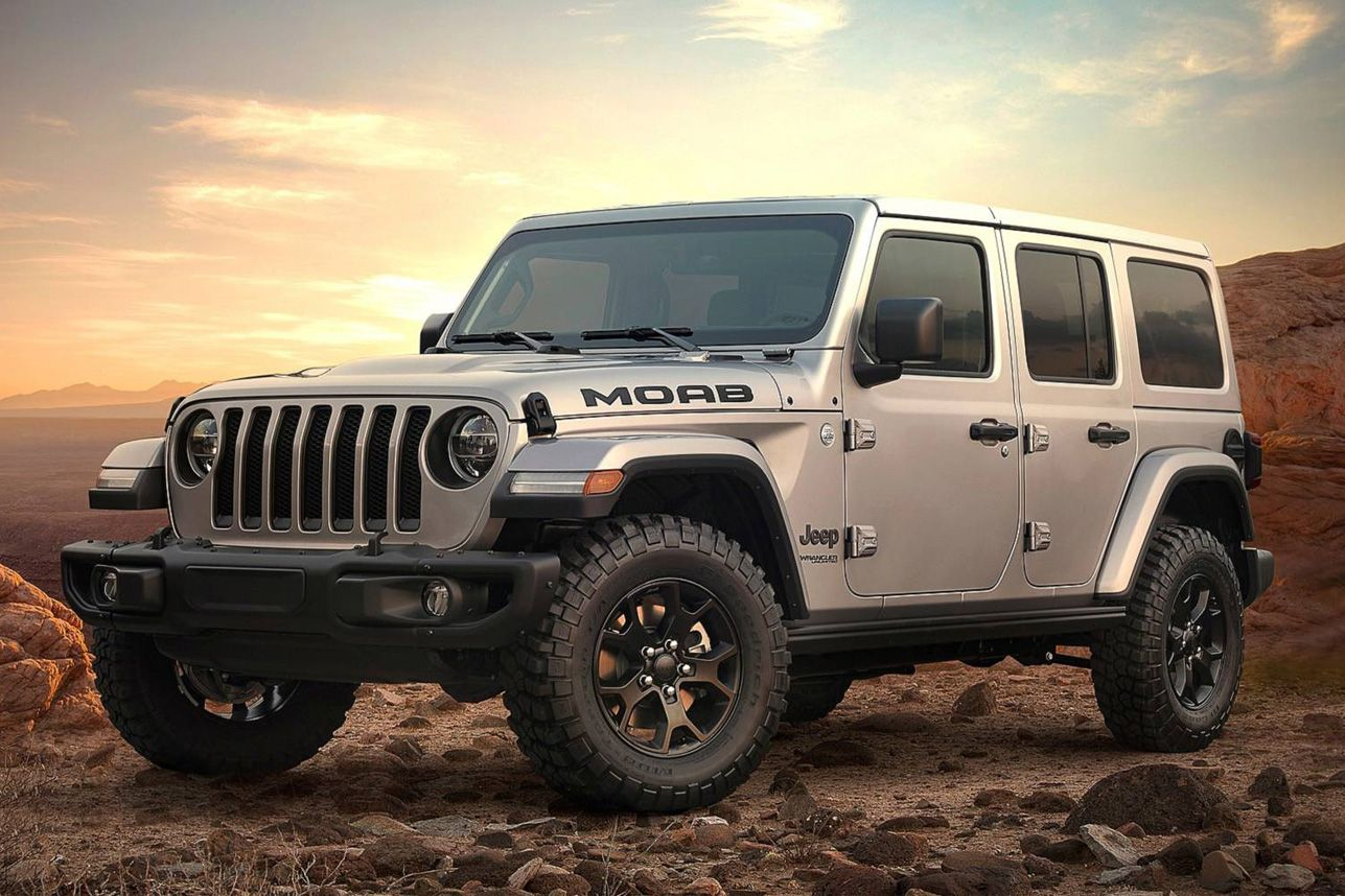 2018 Jeep Wrangler Moab Edition Moab Jeep Jeep Wrangler Unlimited Four Door Jeep Wrangler