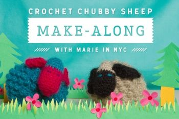 Chubby Sheep Make-A-Long!!!! by Marie in NYC | Project | Crochet / Toys | Decorative | Kids & Baby | Kollabora