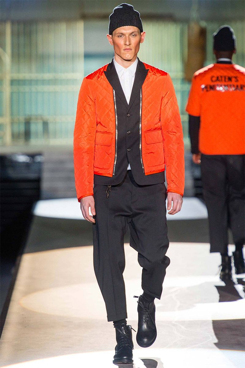 Detailed photos of DSquared2 Autumn (Fall) / Winter 2014