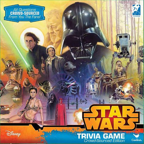"""Star Wars Trivia Game in Box - Cardinal Games - Toys""""R""""Us"""
