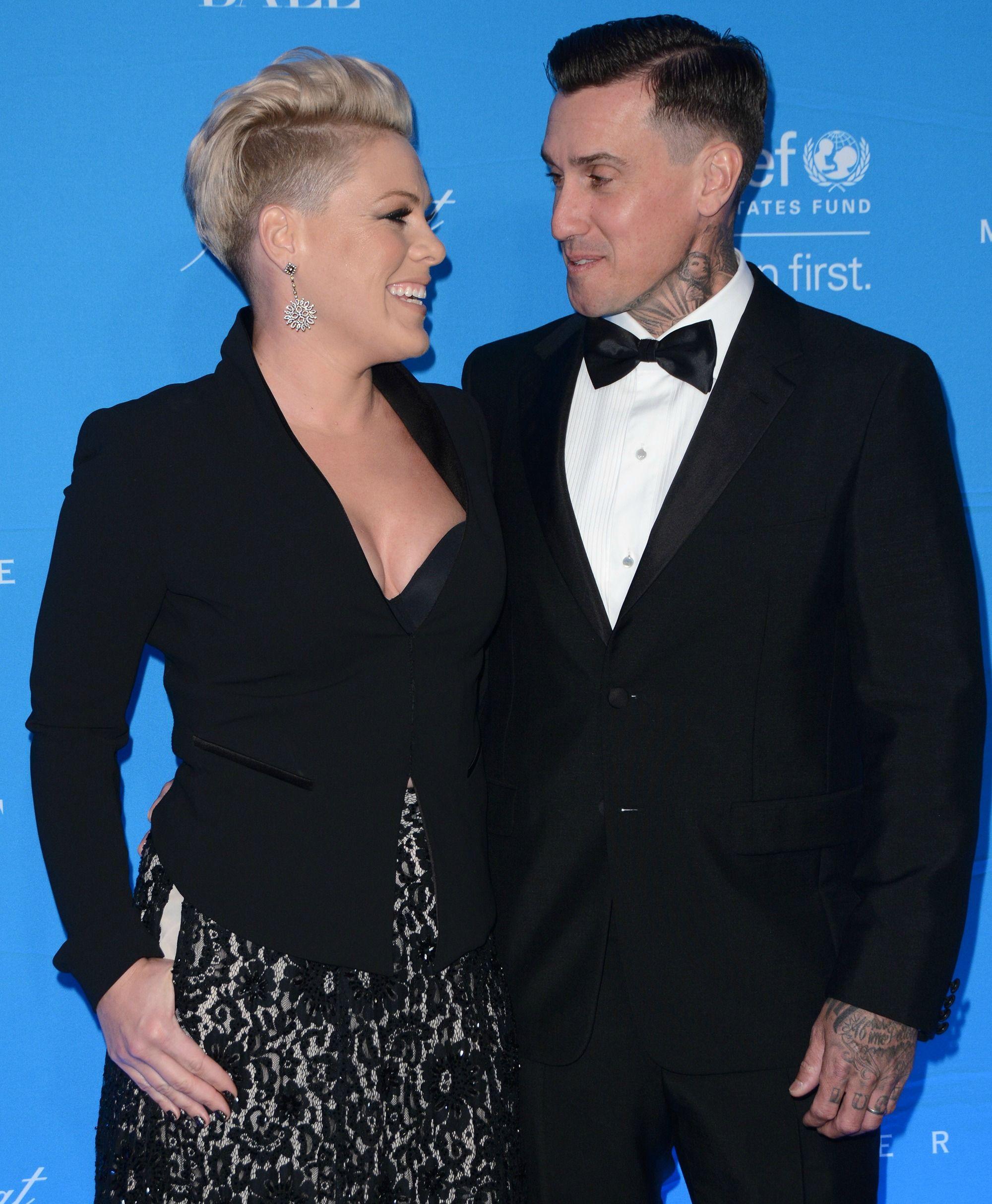 Pink y Carey Hart