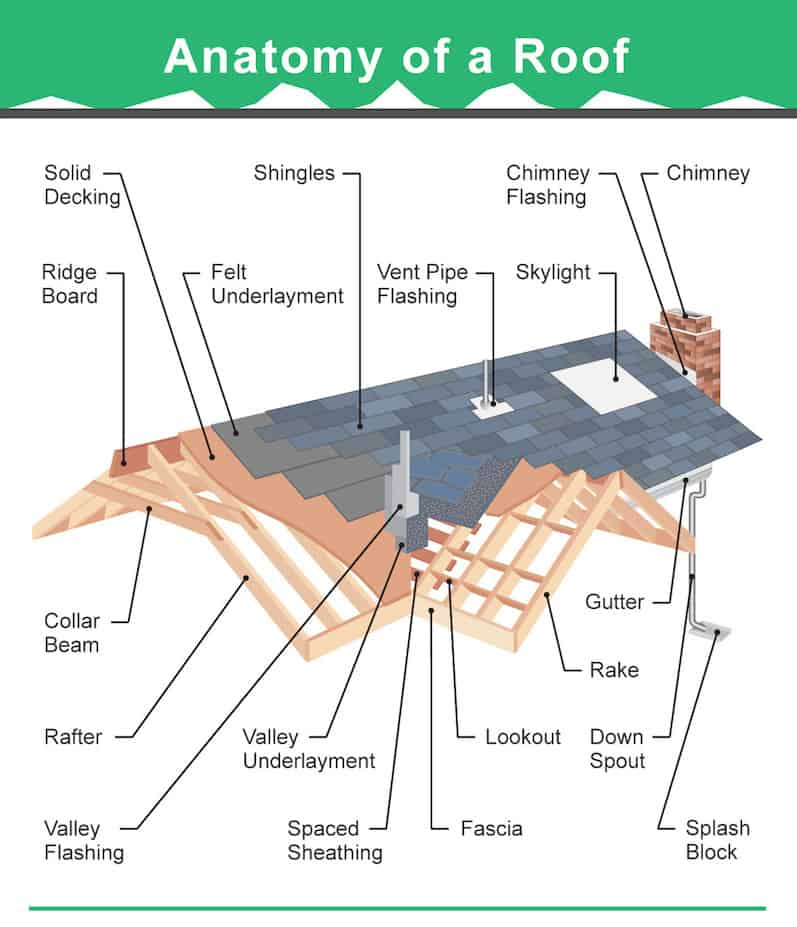 36 Types Of Roofs Styles For Houses Illustrated Roof Design Examples Roof Cladding Roof Design Roof Trusses