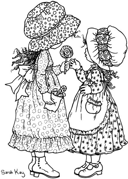 Stamps sarah kay pinterest holly hobbie stamps and for Holly hobbie coloring pages