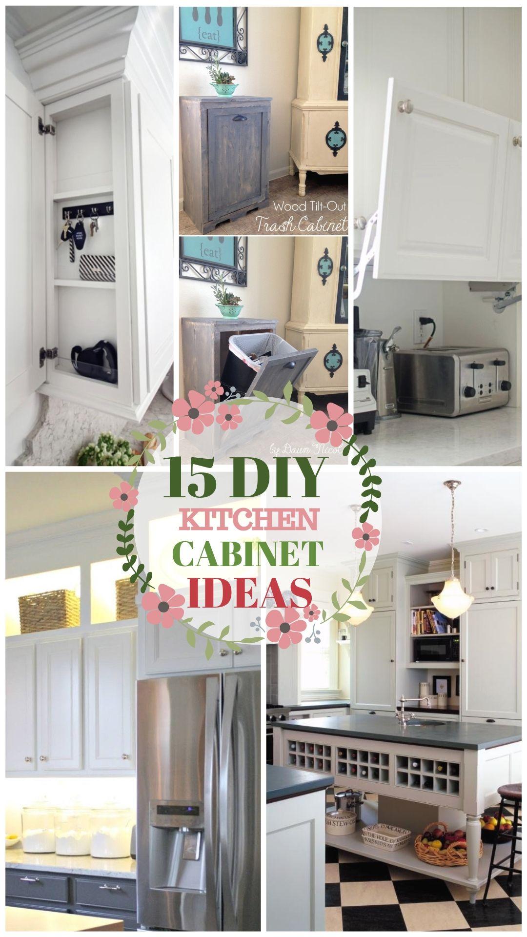 Best Kitchen Cabinet Diy Ideas Diy Kitchen Cabinets Kitchen Backsplash Designs Diy Kitchen