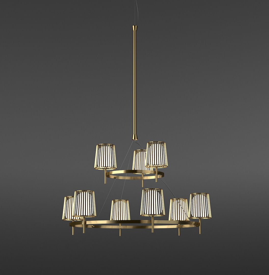 becker lighting. Lights · Chandelier Made Of Brass And Glass The Julia Series For Quasar Holland By Daniel Becker Lighting S
