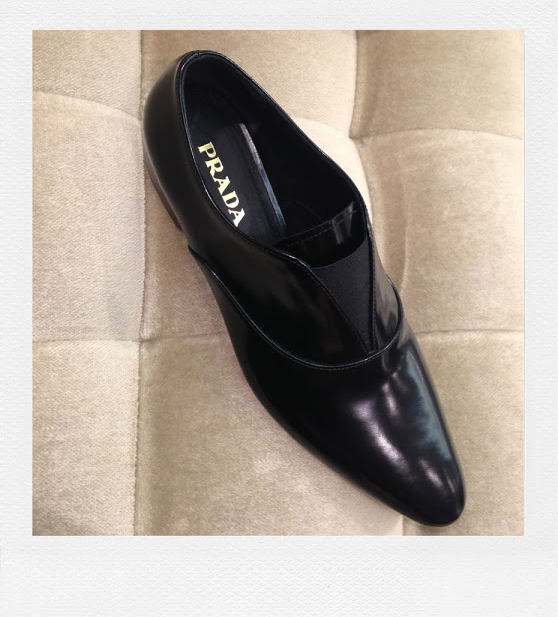 This season is all about a spin on the classic loafer. This one from Prada is soo gorgeous! See more on www.elin-kling.com
