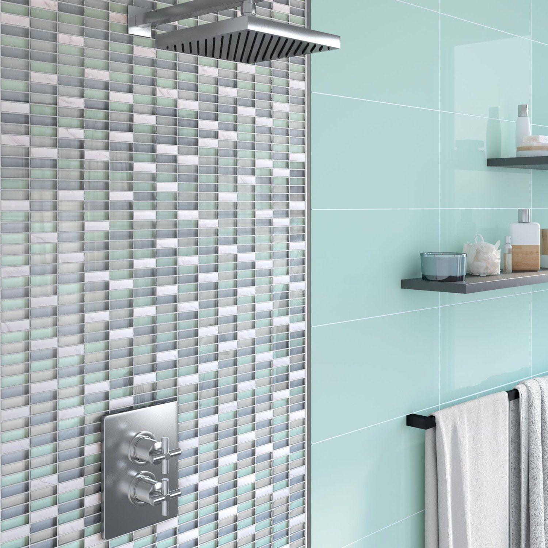 Mosaique Mur Fusion Dove Multicolore Parement Mural Mur Vert