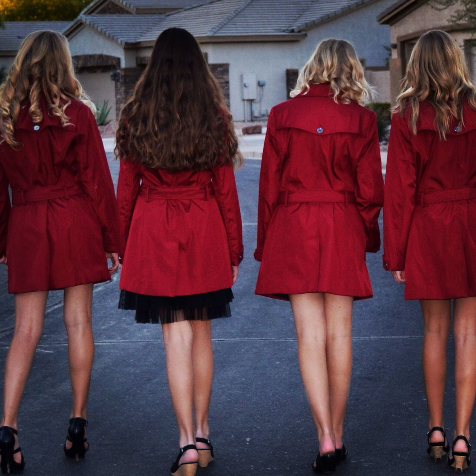 Red coat pretty little liars Halloween costume Last