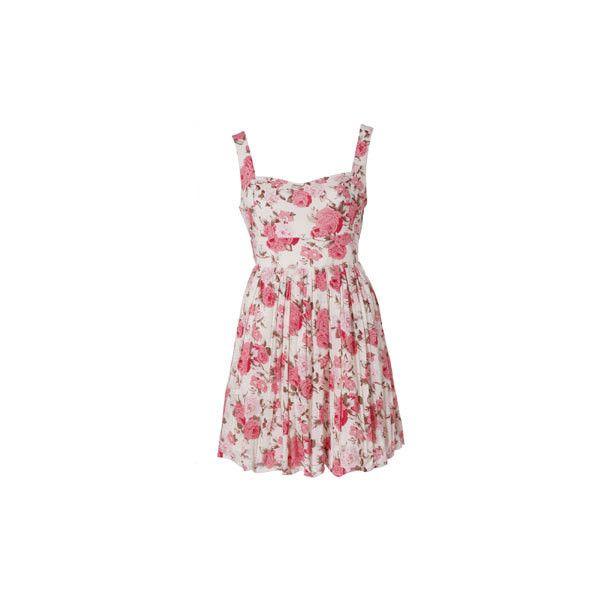 Dresses - Jarlo Pink Rose Dress : Oliver Bonas Gift Shop - Unique Gift... (3.825 RUB) ❤ liked on Polyvore featuring dresses, vestidos, rose dress, jarlo, army green dress, military green dress and olive dress