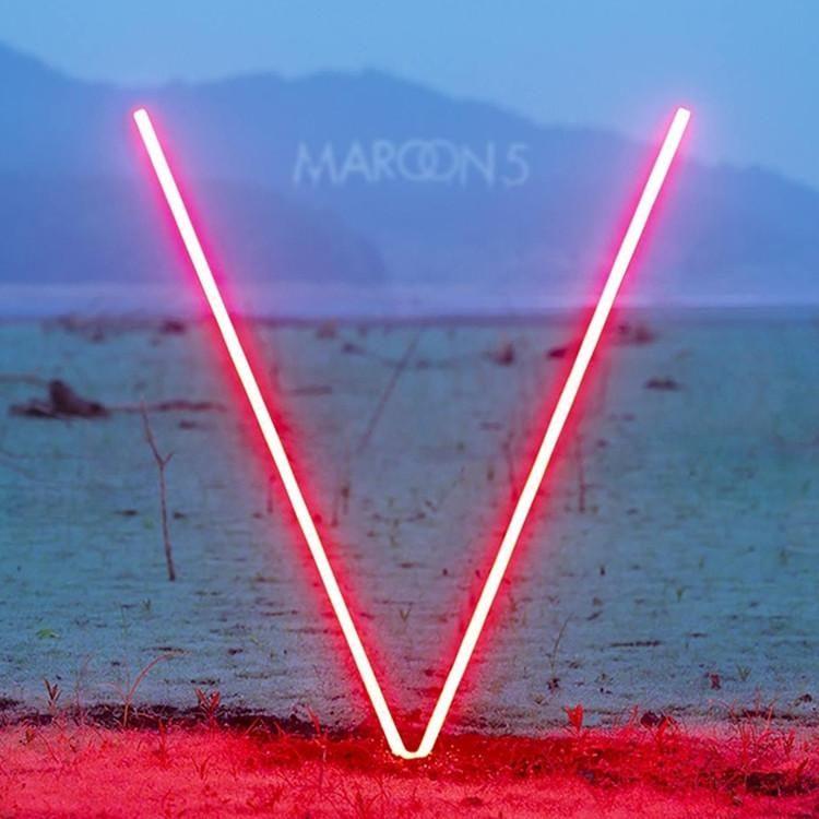 Maroon 5 V Colored Vinyl Lp In 2020 Maroon 5 Maroon 5 Animals Cool Album Covers