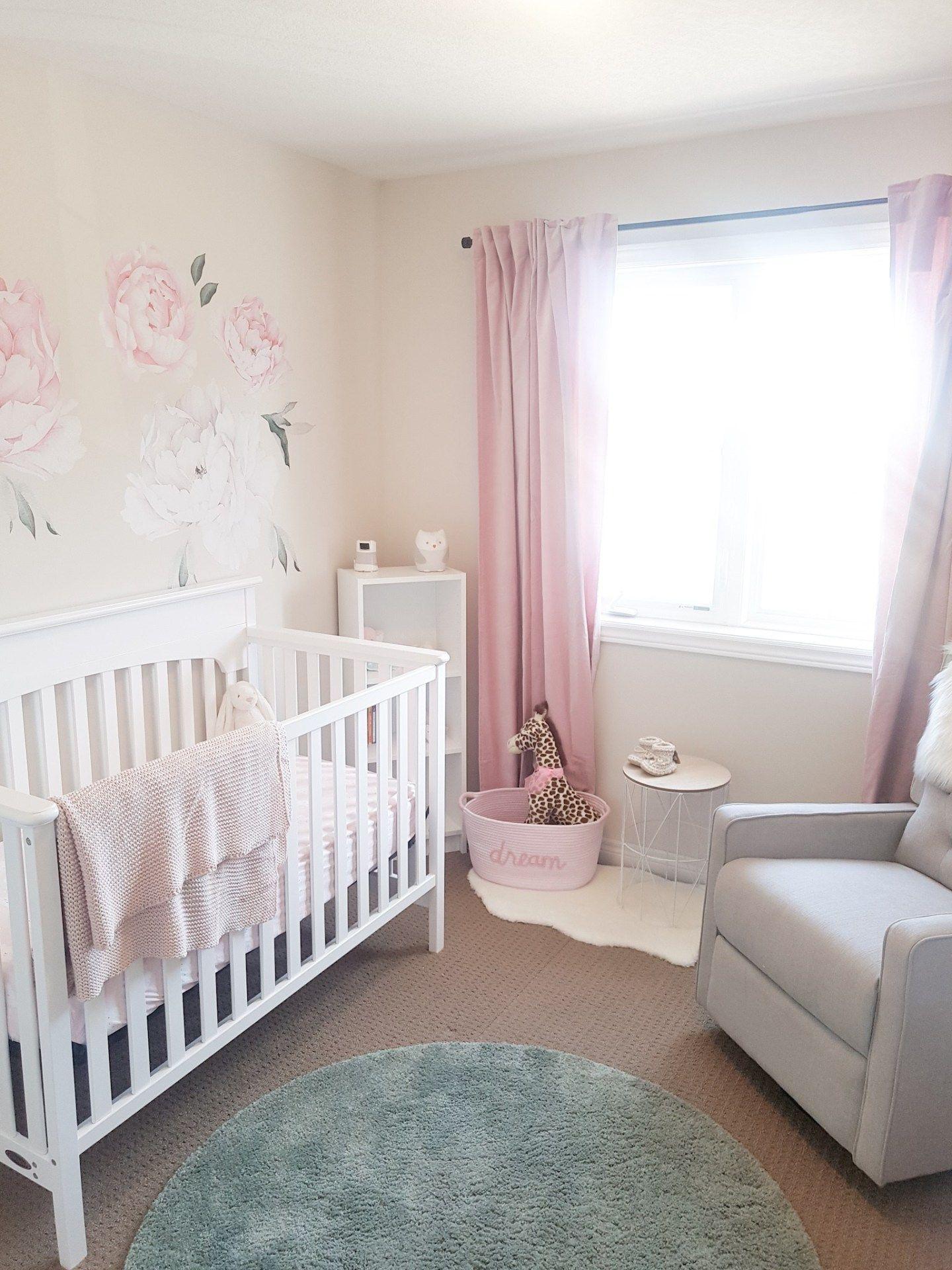 Baby Girl Nursery Room Tour Nursery Essentials Nursery Room