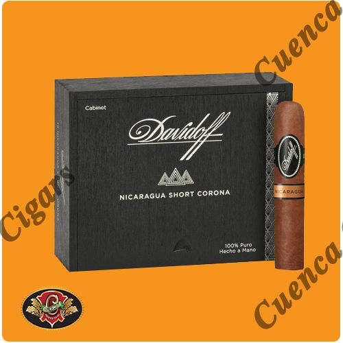 Davidoff Nicaragua Short Corona Cigars - Box of 14 - Price: $146.90