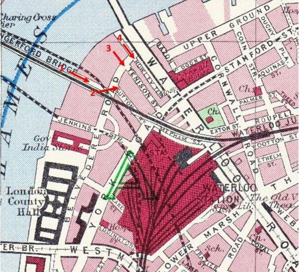 Map waterloo london Waterloo Train