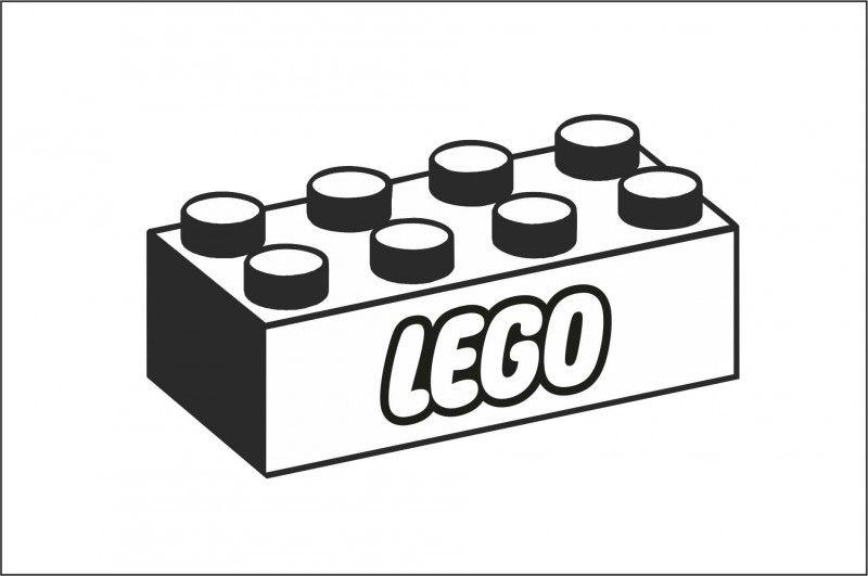 muursticker legoblok muurstickers lego kleurplaten