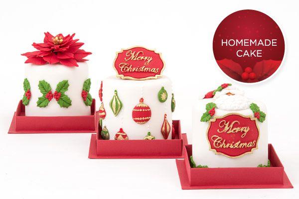Bolinhos decorados da Homemade Cake. Clique na foto para saber o contato para encomendas.