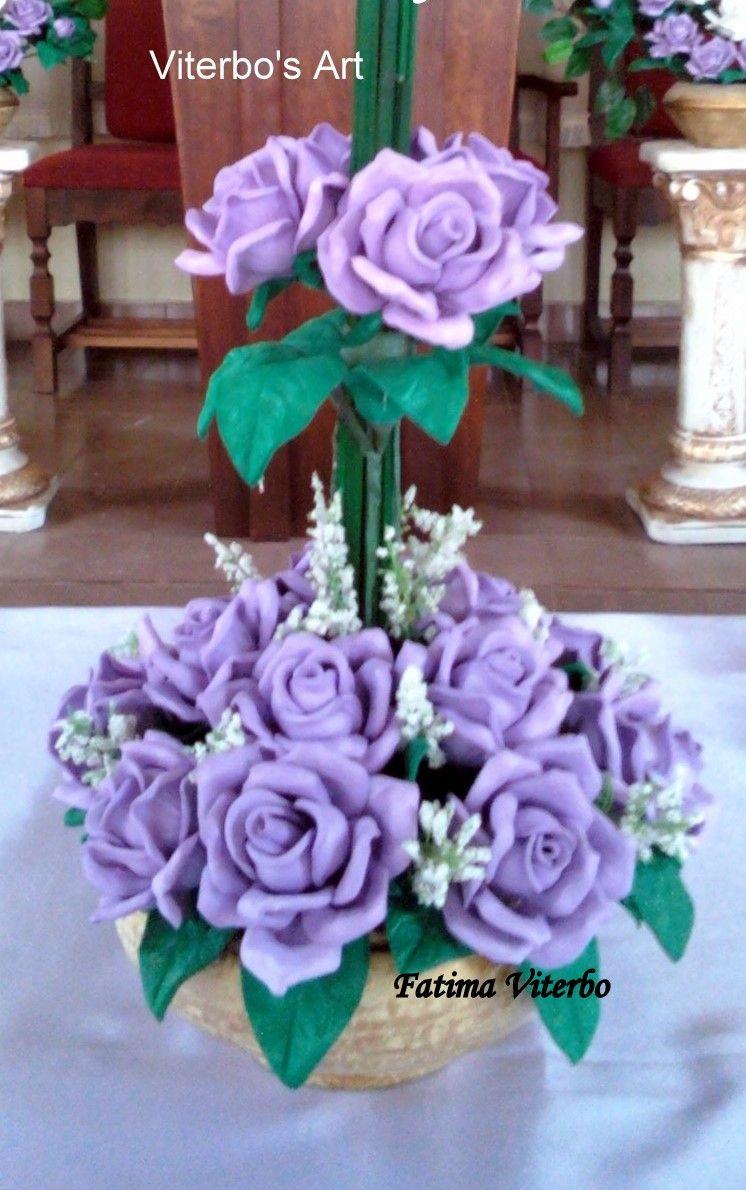 Ikebana Rosa Silvesre e Lirio da paz     Dalia esse presenteou alguem muito especial     Buque de noiva iluminado com strass de cristal fe...