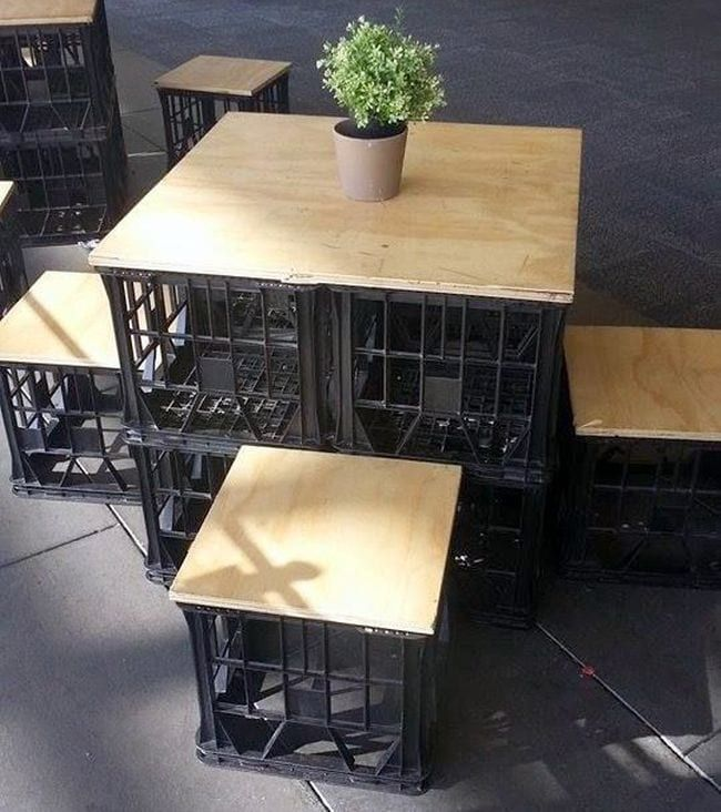 23 Creative Ways to Use Milk Crates in the Classroom - We Are Teachers images