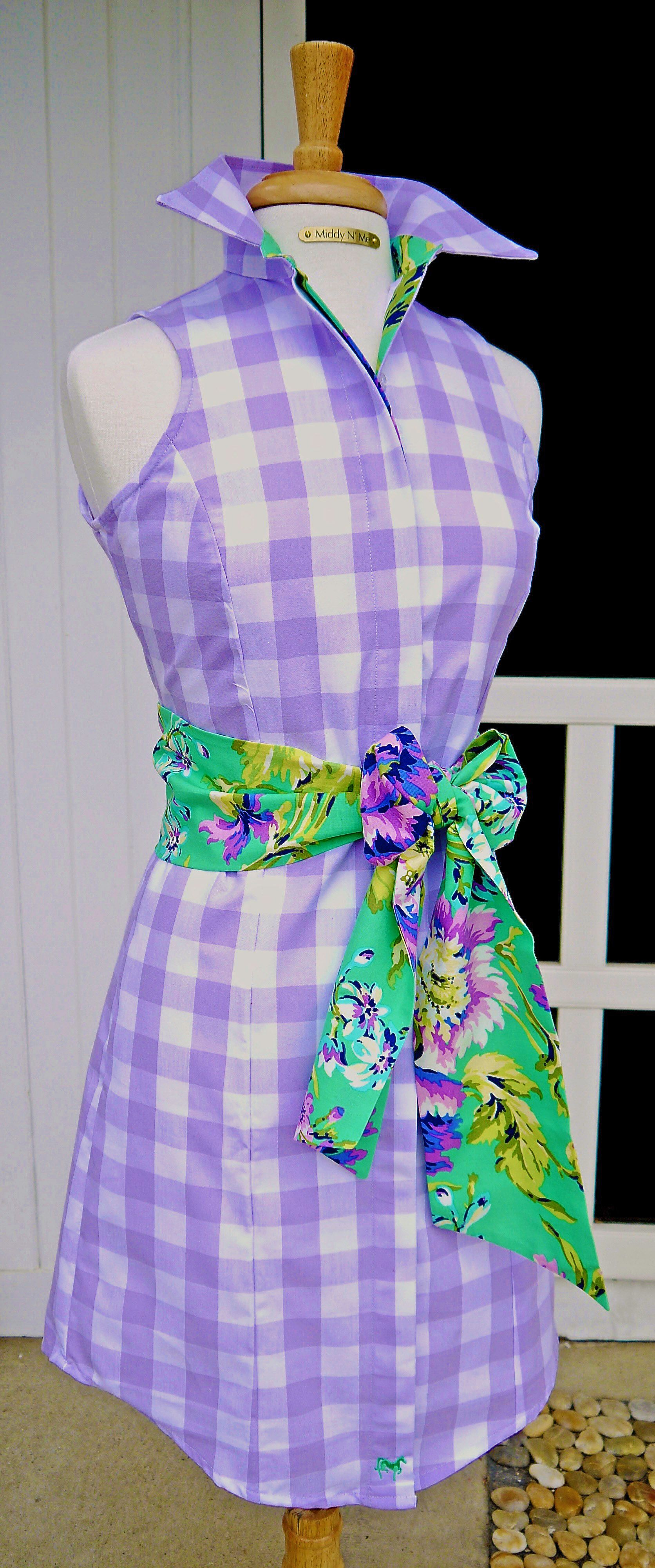 Our darling sweet virginia gingham dress is summer perfection super