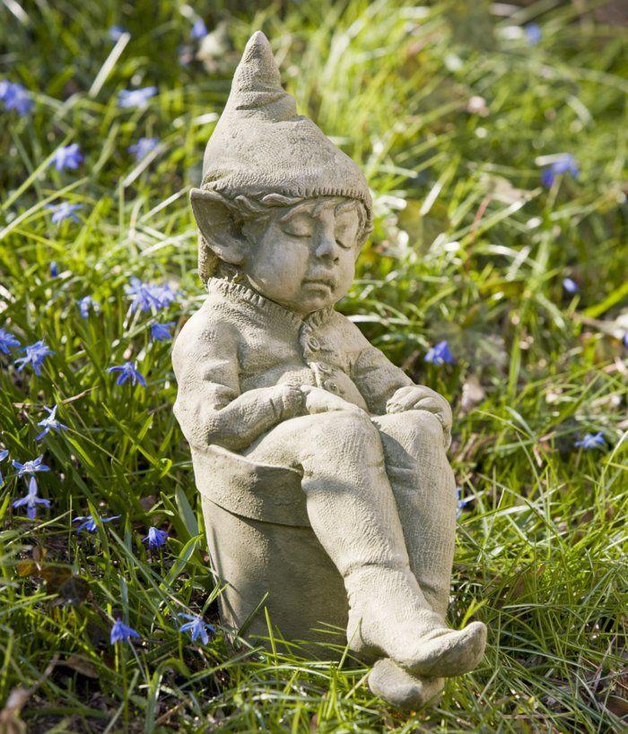 Garten skulpturen aus steinguss wohn design for Gartenfiguren aus steinguss