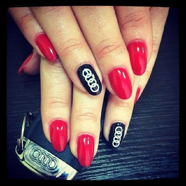 Audi Manicure Nail Designs Manicure Coffin Nails Designs