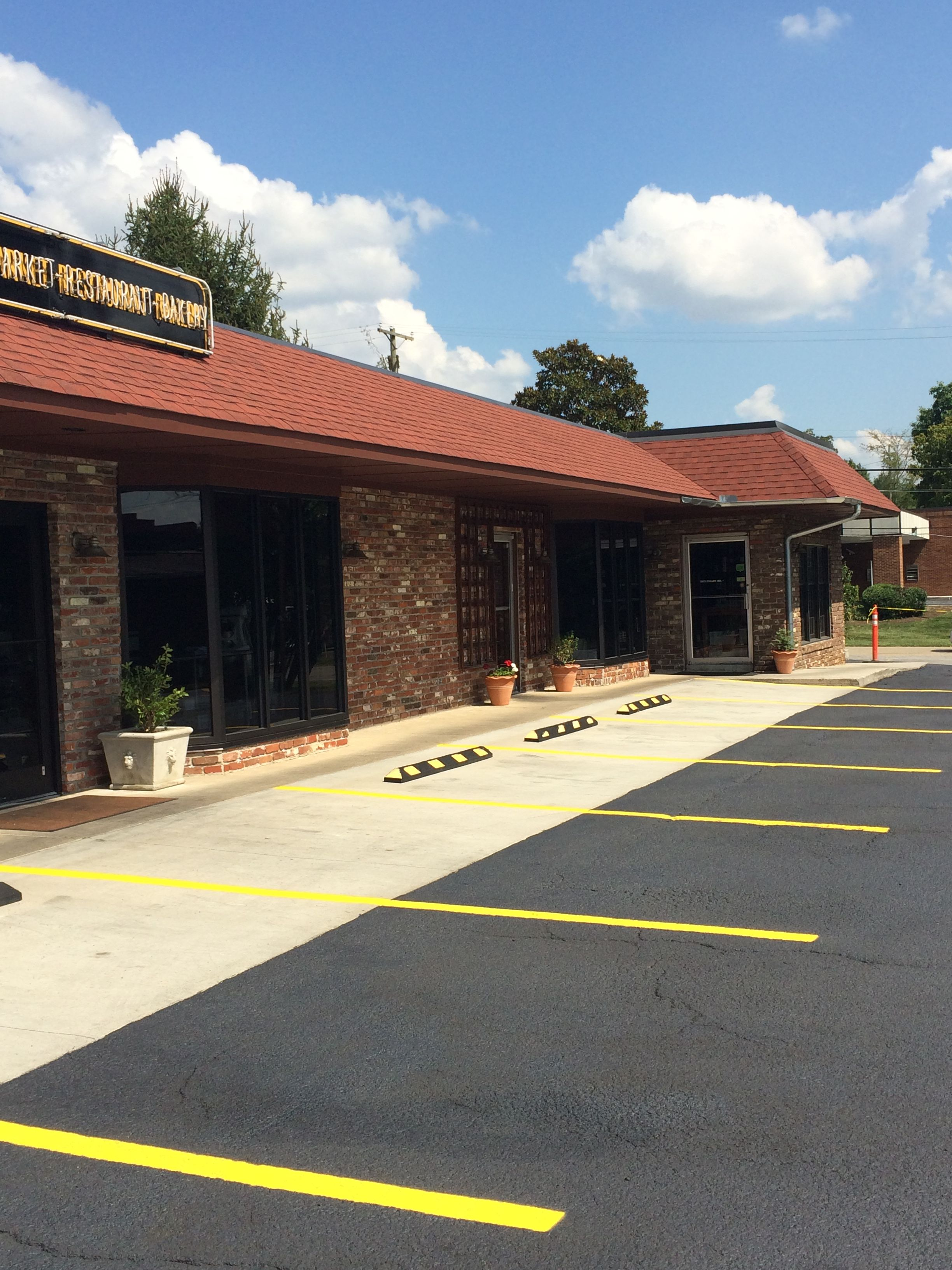 Parking Lot Striping Pavement Concrete Seal Coating