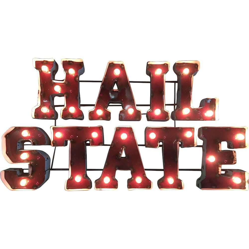 Mississippi State Bulldogs Light Up Wall Da C Cor Mississippi