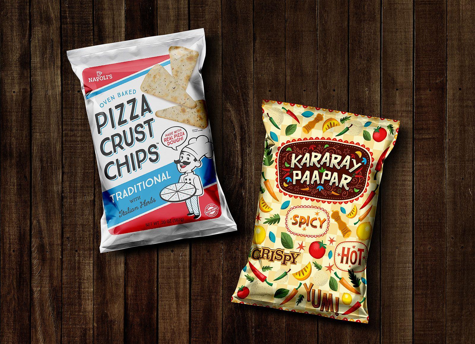 Download Free Snack Pack Chips Pouch Packaging Mockup Psd 1 Desain Produk Saset Desain Logo Bisnis