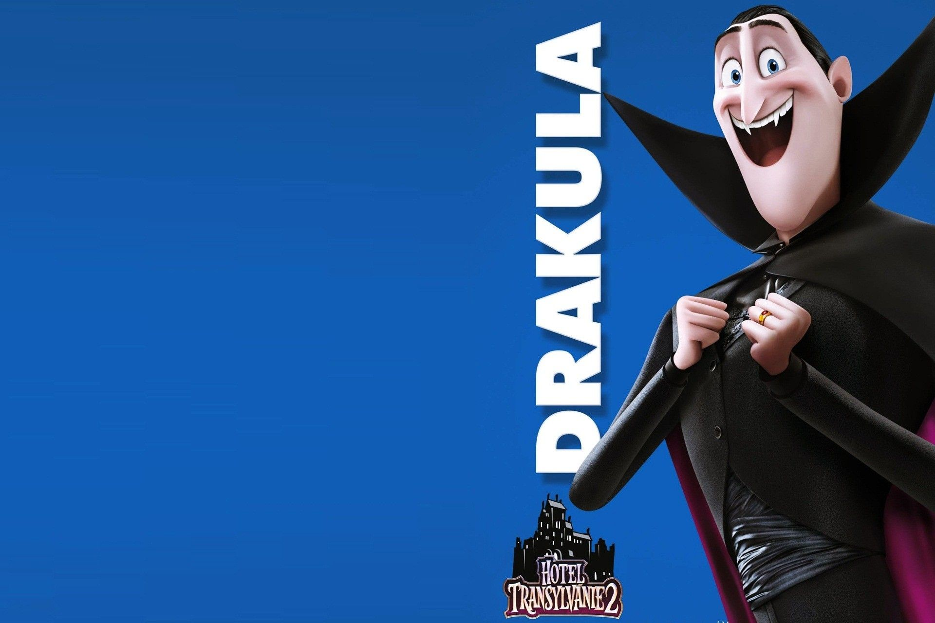 Dracula - Hotel Transylvania 2 Hd Wallpaper Knut Design
