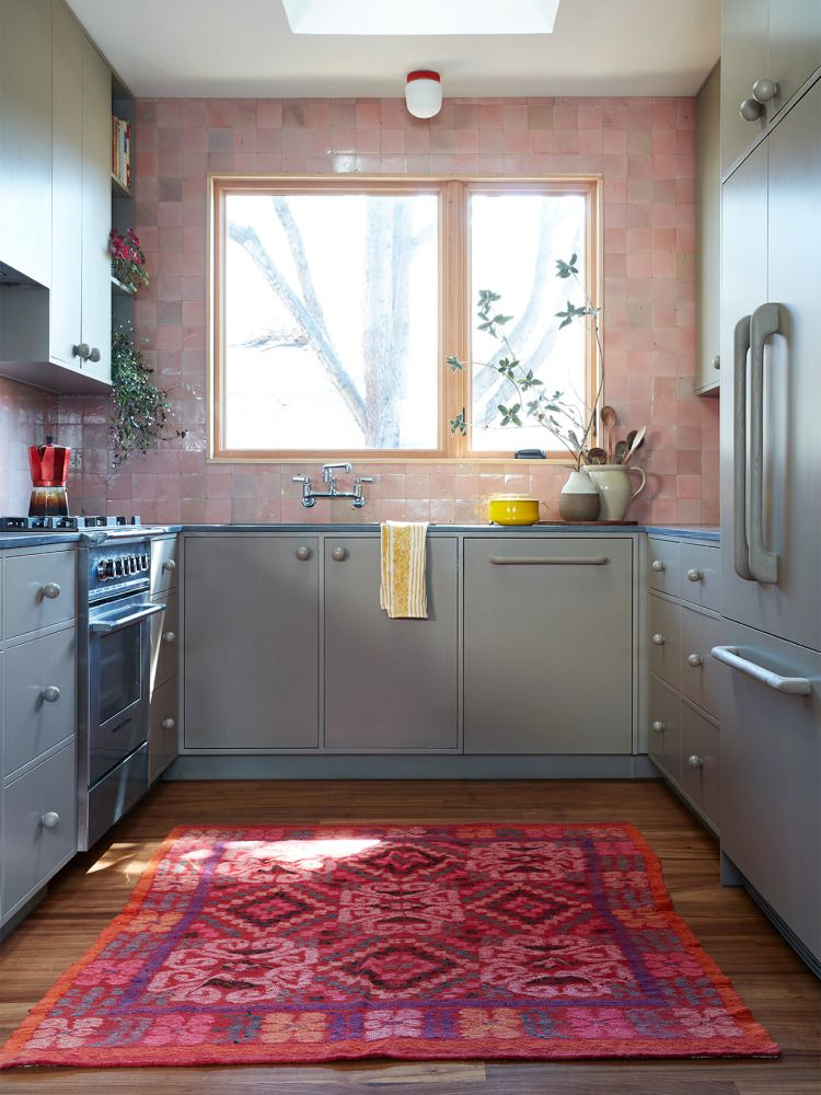 Joanne And Luke Bartels Little Kitchen Before And After Has Some Big Ideas You Ll Want To Steal Kitchen Cabinet Design Home Galley Kitchen Renovation