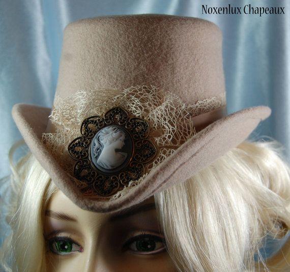 Pretty hat - Noxenlux Chapeaux on Etsy