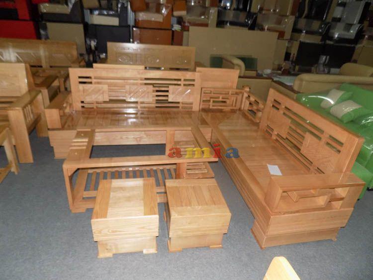 Mẫu Sản Phẩm Ghế Sofa Gỗ Goc đẹp Hiện đại Cho Phong Khach Gia đinh