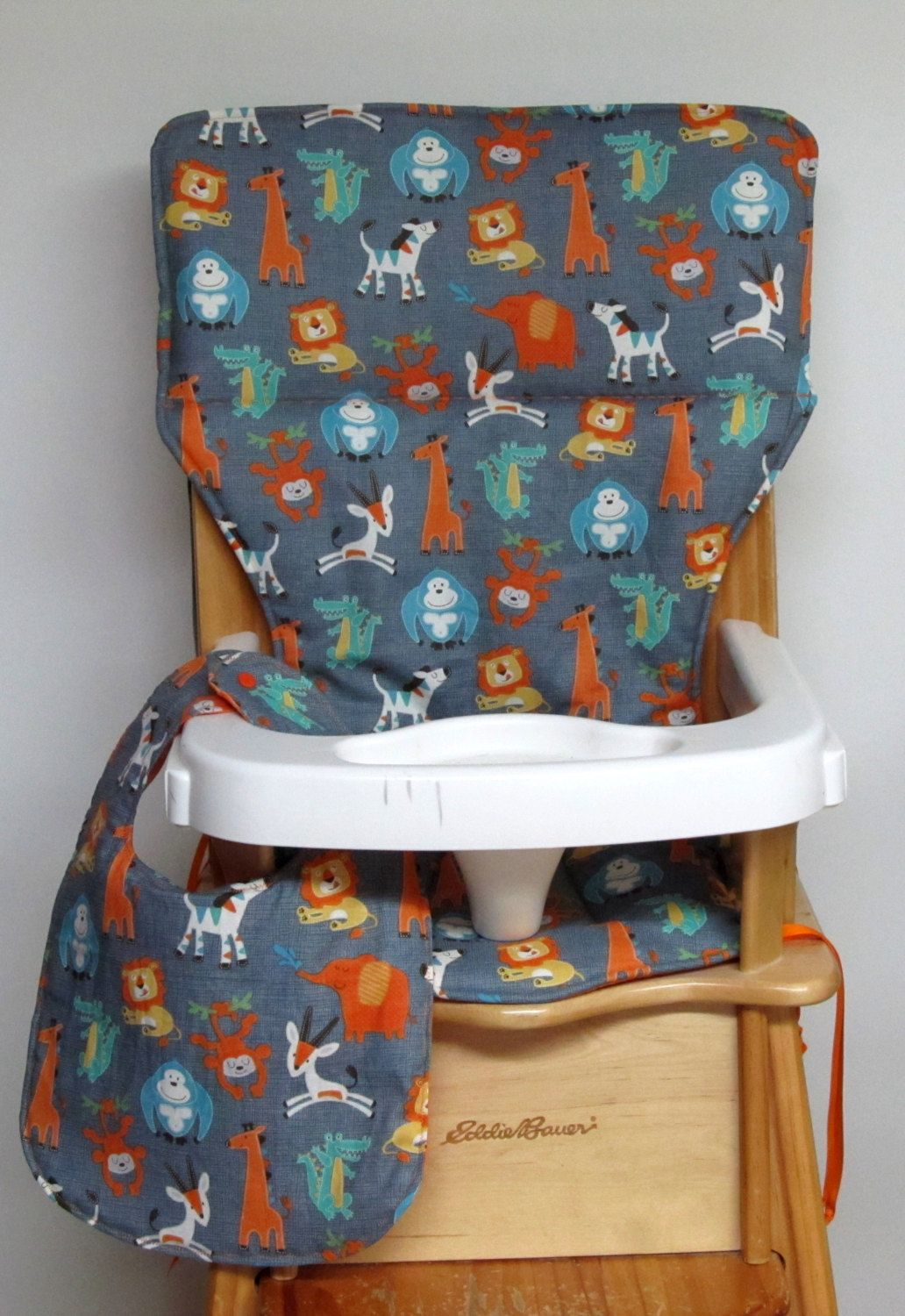 High Chair Cover Eddie Bauer Chair Pad Jenny Lind Chair Cover
