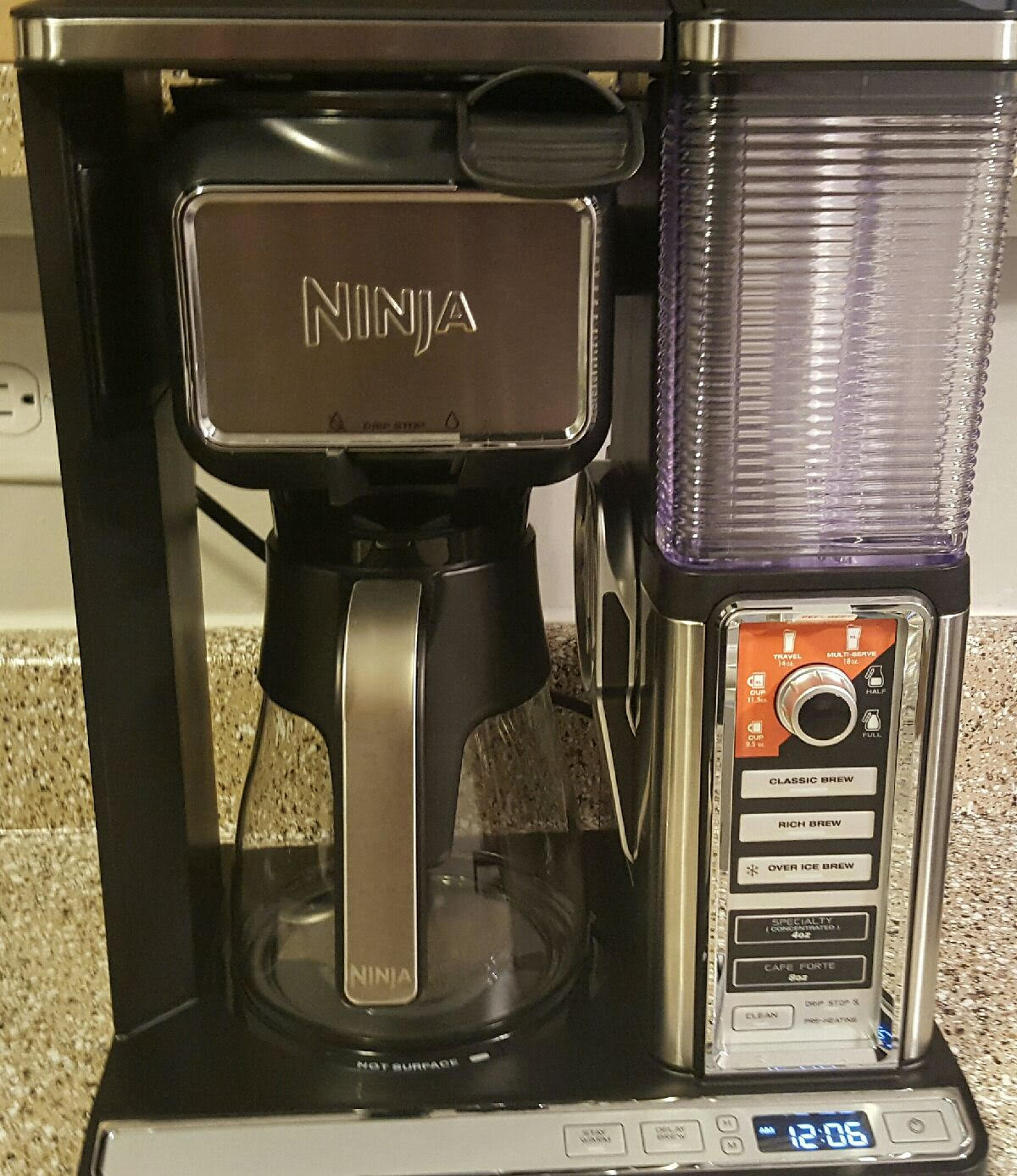 The Ninja Coffee Bar Glass Carafe System Review