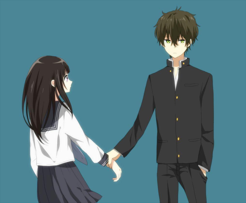Anime boy ang girl
