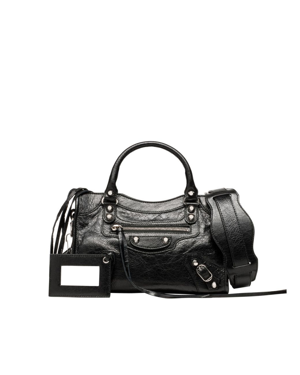 74e42783aca1 Women s Black Mini City Leather Bag