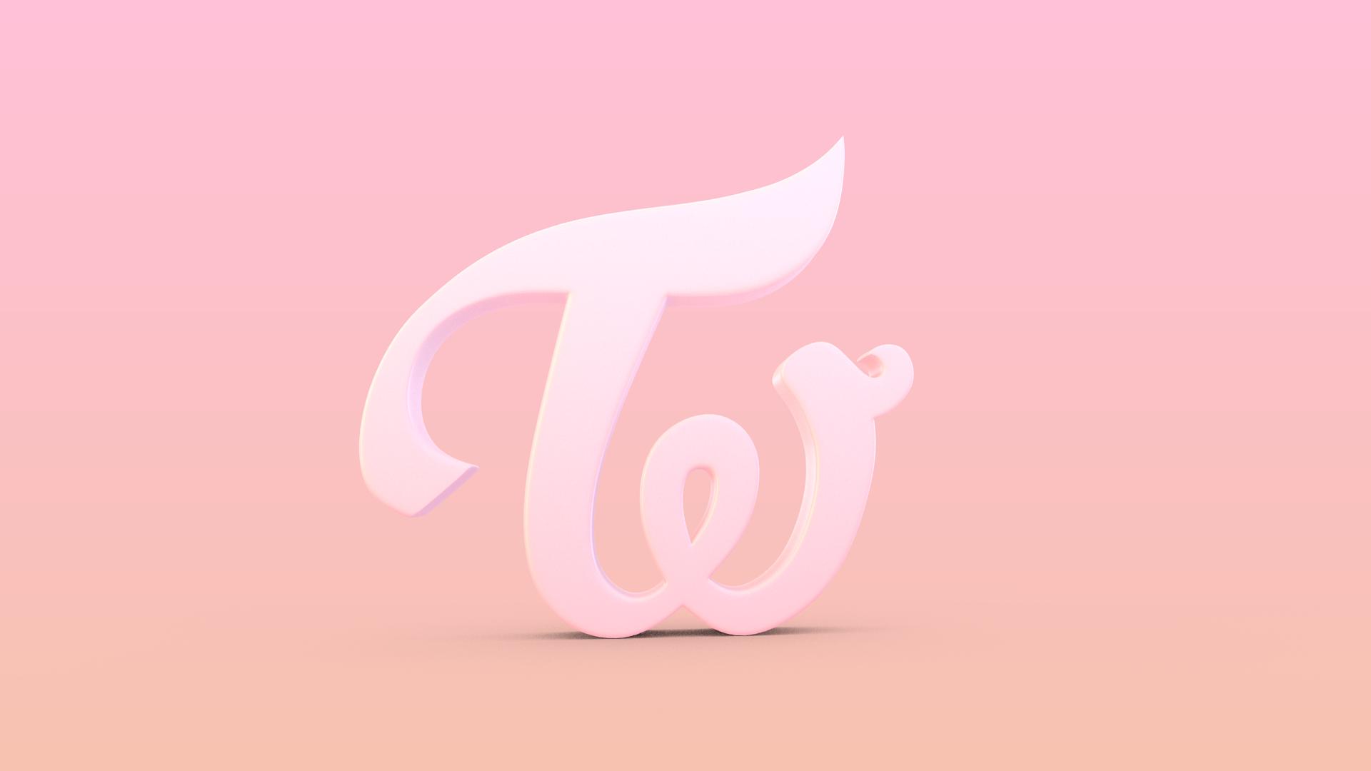 Twice Logo Logos Logo Background 3d Logo