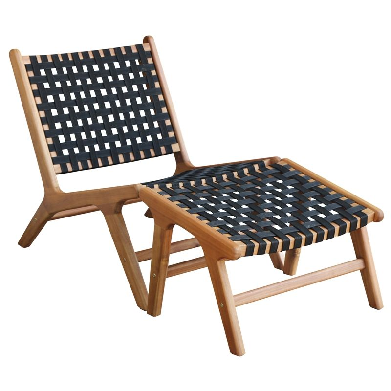 Malindi Lounge Chair Footrest At Homebase Co Uk Homebase Outdoor Living Diy Outdoor Chairs