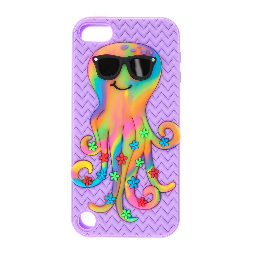 sports shoes eb5ca fbc8b Funky Octopus iPod Case - iPod Touch 5* | Claire's | Stuff | Iphone ...