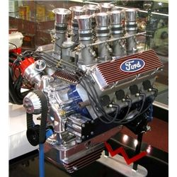 Ford Y Block 312 Cid Weslake Racing Conversion Museum Of
